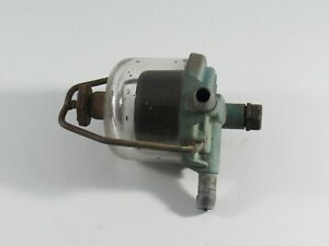 Vintage Ac Fuel Sediment Filter Assembly With Bowl For Gf 124