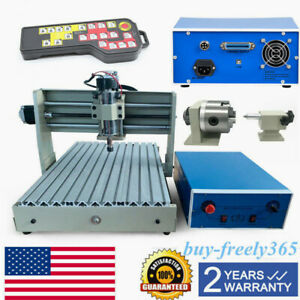 4axis 3040 Router Engraver Cnc Engraving 3d Milling Machine Usb controller