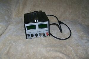 Electro Industries Model Digi 35a Regulated Dc Power Supply