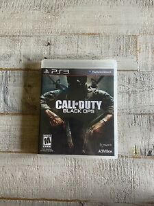 Call Of Duty: Black Ops For PlayStation 3 PS3 Tested Complete In Box $11.99