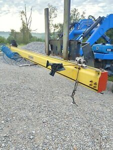 Unified Industries Inc 14 Enclosed Rail Track Rail Crane With Roller