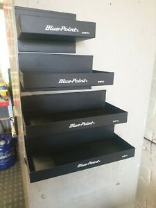 Blue Point Magnetic Tool Box Shelf X 4 Storage Trays In Black As Sold By Snap On