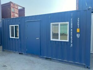 Shipping One Trip 20ft Container W door And Window 8 625 bakersfield