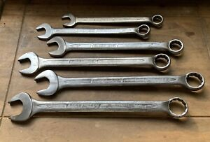 Elora 205 Series Set Of 6 Large Combination Spanners 22 24 27 30 32 34 Mm