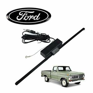 1967 79 Fits Ford Truck F150 Hidden Amplified Radio Antenna Fm Stereo 460 Highbo