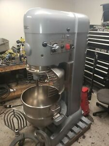 Hobart 80 Qt M802 Mixer With Safety Cage 3 Hp