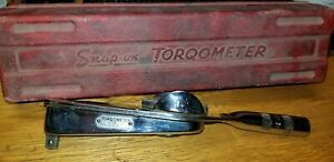 Snap On Te12a Torqometer 3 8 Drive 150 Pounds Torque Wrench