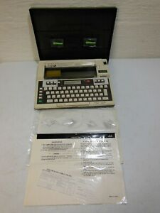 Brother Ep 20 Lightweight Electric Typewriter No Power Cord W 2 Ribbons New