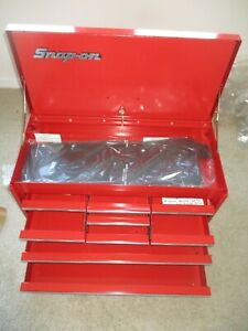 New Vintage Snap On Tools Kra 58g Kra58g 9 Drawer Top Toolbox Chest 1986