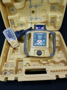 Topcon Rl sv2s Dual Garde Rotary Laser Level With Receiver 87