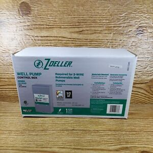 Zoeller Well Pump Control Box 1 2 Hp For 3 Wire Submersible Well Pumps 1010 2336