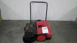 Bissell Commercial Bg477 31 In Cleaning Path W Walk Behind Sweeper