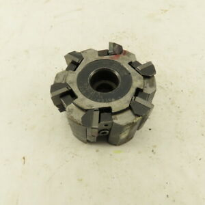 Valenite 103 cc 8457 3 Od 8 Tooth Carbide Indexing Shell Mill Cutter