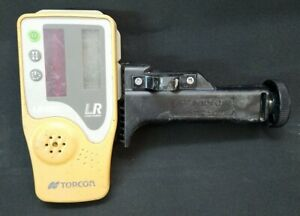 Topcon Ls 80l Extended Range Rotary Laser Receiver With Rod Mount 15