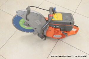 Husqvarna K770 14 Concrete Cut Off Saw With New 14 Diamond Blade Pick Up Only