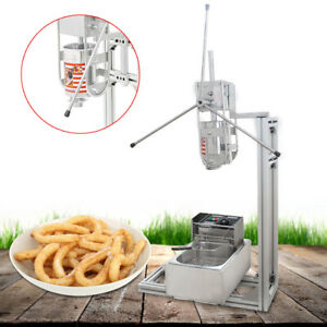 Commercial Electric Deep Fryer Restaurant Stainless Steel 6 3qt Usa New 1700w 6l