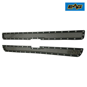 Grille Front Hood Rivet Steel Wire Mesh Insert Fit 99 02 Chevy Silverado 1500