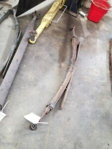 Rear Leaf Spring Fits 01 10 Sierra 2500 Pickup 246104 Fits More Than One Vehicle