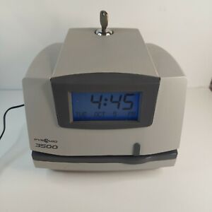 Pyramid 3500 Time Clock Time Cards And Key Tested