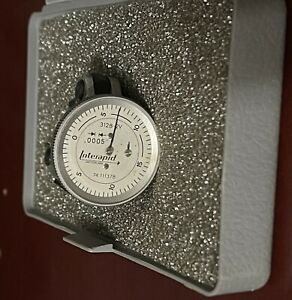 Interapid 0 To 0 06 0 000500 Graduation Vertical Dial Test Indicator 0 15 0