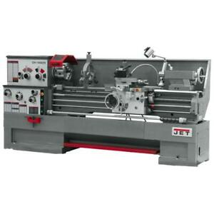 Jet 322486 Gh 1880zx With Taper Attachment And Collet Closer Metalworking Lathe