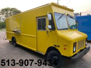Yellow Food Truck Equipped With Commercial Restaurant Nsf Equipment Send Offer