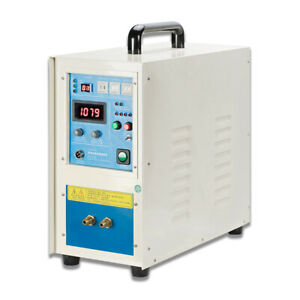 380v 25kw High Frequency Induction Heater Quench Anneal Metal Melting Furnace