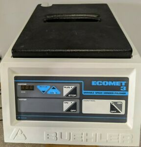 Very Nice Condition Buehler Ecomet 3 Variable Speed Grinder Polisher 30 3000
