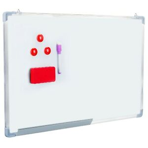 34 6x22 8magnetic Whiteboard Dry Erase White Board Wall Hanging Board W Tool