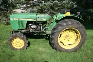 John Deere 950 Compact Utility Tractor 4wd 8 2 Speeds Yanmar 3 Cyl 31 Hp 12v