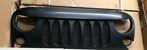 Front Grille For Jeep Wrangler Jk Jku 2007 2018 Angry Grille