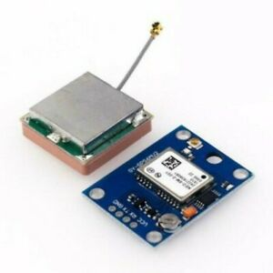 1x Neo 6m 3v 5v Gps Module Super Signal With Antenna For Arduino Light Weight