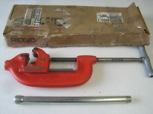New Ridgid 32840 Pipe Cutter 4 s 2 To 4 Capacity Heavy Duty Steel With Box