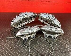 Mercedes Benz W211 E55 Sl55 S55 Amg Front And Rear Brembo Brake Calipers Set Oem