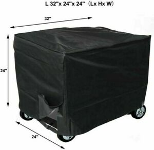 Generator Cover Black Polyester Fabric Cover Replacement Accessory Comfortable