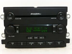 2005 2006 Ford Mustang Shaker 500 Radio Mp3 6disc Cd Changer Player Receiver Oem