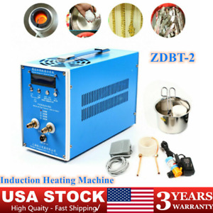 Induction Heater Induction Heating Machine Metal Melting Furnace Welding 1500w