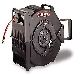 Legacy Manufacturing L8306 Levelwind Retractable Air Hose Reel 3 8 X 75