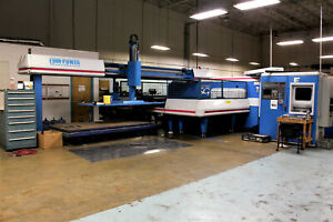 Finn Power Sg Turret Press Punching Machine With Tooling Trs6 am