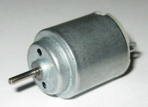 Small High Speed Hobby Dc Motor W Terminals 3 Vdc 14 000 Rpm 2mm Shaft Dia