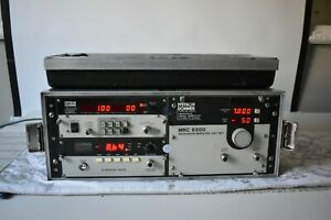 Systron Donner Mrc6500 Microwave Signal Generator And Frequency Counter Working