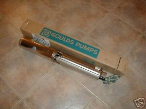New Goulds 1 1 2 Hp 10 Gpm Submersible Water Well Pump