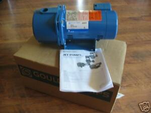 New 3 4 Hp Goulds Water Well Deep Jet Pump Jrd 7