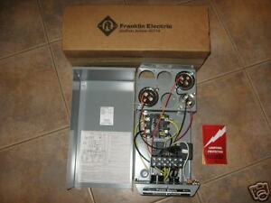 New Franklin Deluxe 7 5 Hp Water Well Pump Control Box