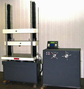 60k Tinius Olsen Deluxe Super L Tensile Strength Compression Force Yield Tester