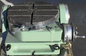 Walter Type Rts 500 Tg Rotary Table Indexing Tilting