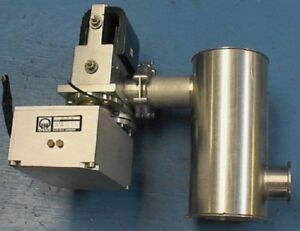 Small Ion Vacuum Pump trap pre amp Leybold Ul 400