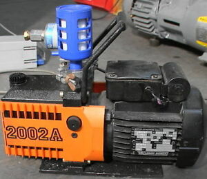 Alcatel 2002a Mechanical Vacuum Pump With Solenoid Valv