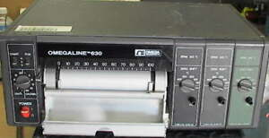 Omegaline 630 3k 3 channel Type K Strip Chart Recorder