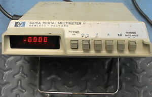 Hewlett Packard Hp 3476a Digital Multimeter